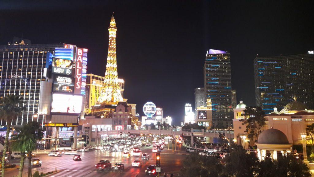 Las Vegas night vision